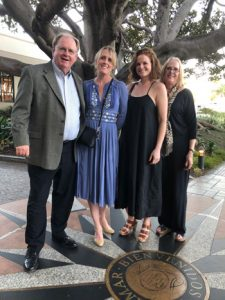 Tom and Marilyn Neis with their daughters